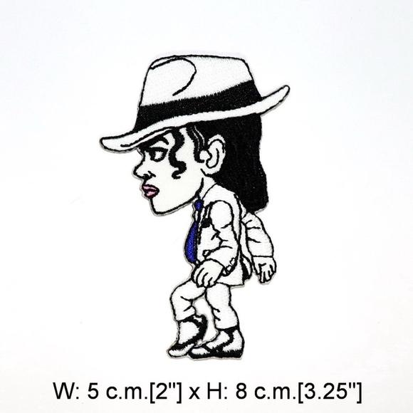 b2a28dfe9a8 Michael Jackson Patch iron on music pop rock DIY